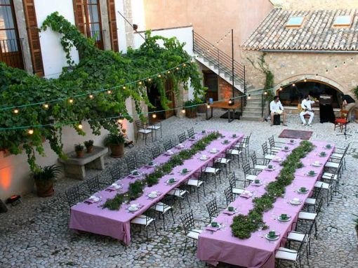 party at the private estate majorca