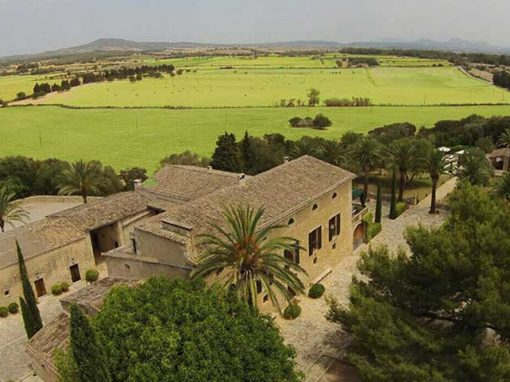 global view of private villa Majorca
