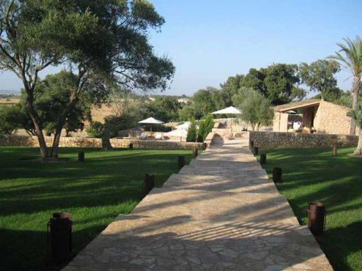 garden private villa Majorca