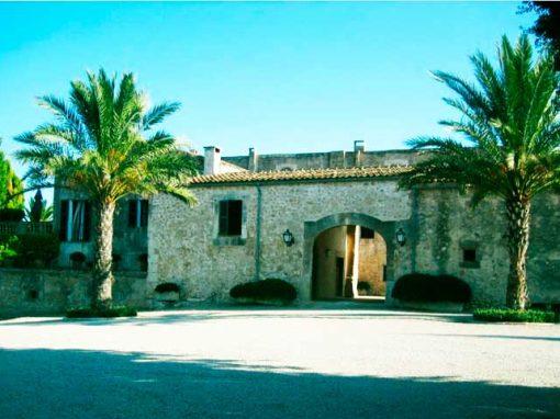 Entrance villa Majorca