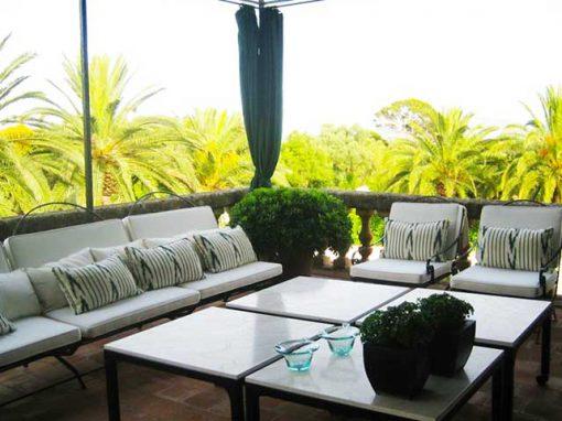 terrace villa majorca