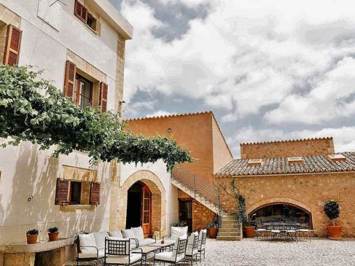 terrace private estate majorca