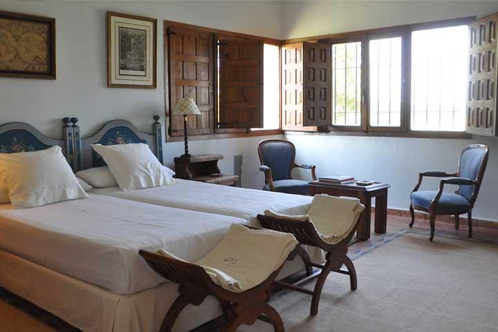 bed room estate extremadura