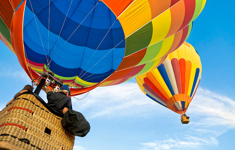 Air balloons tour unique private estates experiences
