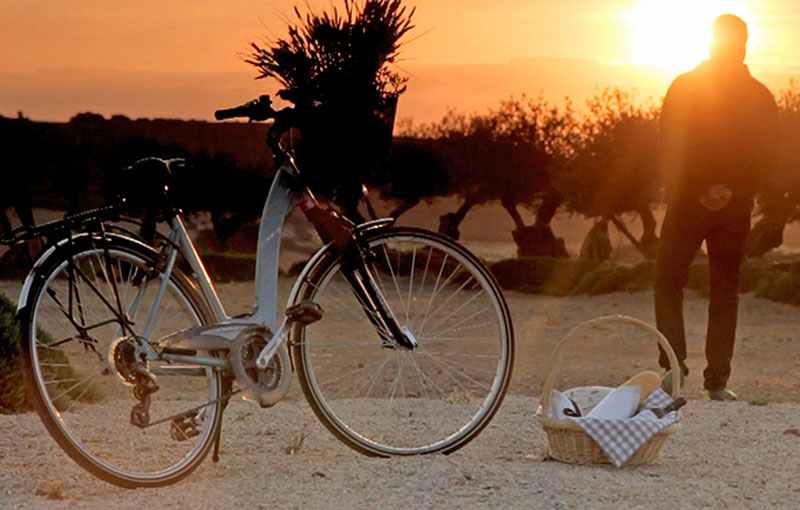 Bike-riding memorable holiday