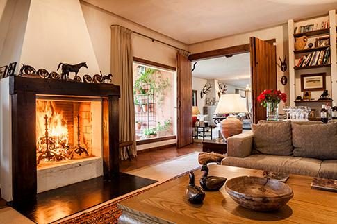 living room Jarandilla De La Vera