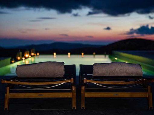 night pool at la nava del barranco