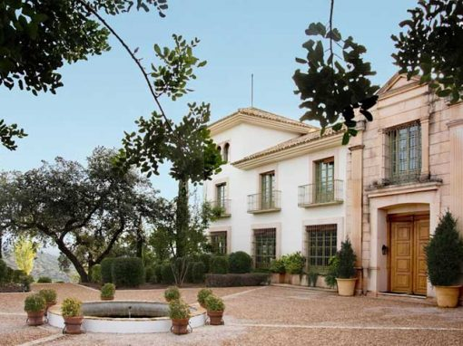 entrance country house in Córdoba